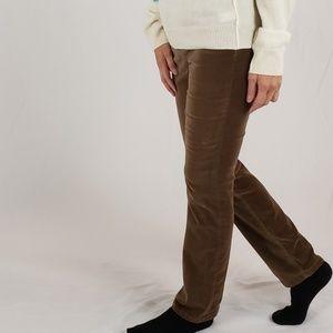 Ralph Lauren: velvet jeans SIZE 4.